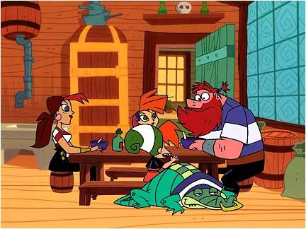 Famille pirate - Dessin anime de la famille pirate ...