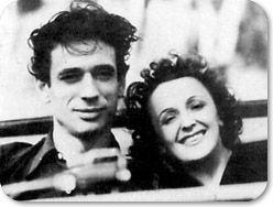 Yves Montand et Edith Piaf