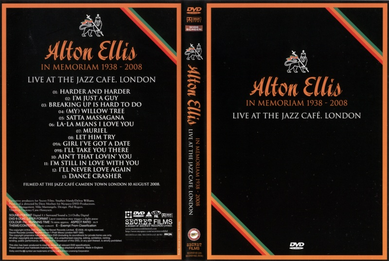 [FS]   Alton Ellis  Live at the Jazz Cafe-London