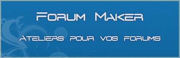 Forum Maker