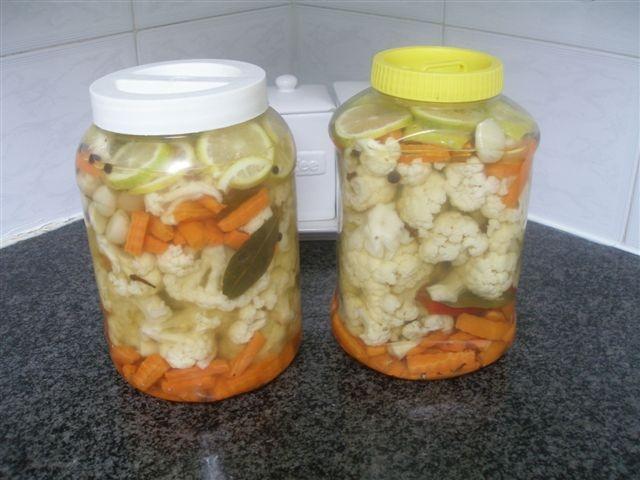 Legumes aux vinaigre blanc pickles - Vinaigre blanc cuisine ...