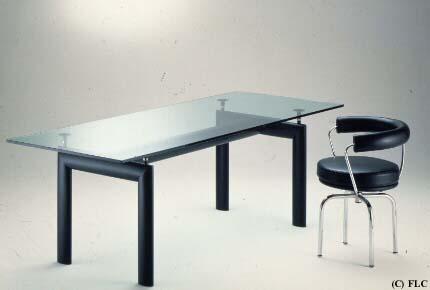 Table lc6 le corbusier - Le corbusier tavolo ...
