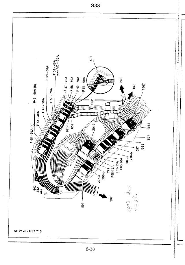 Schema fusible renault espace 4