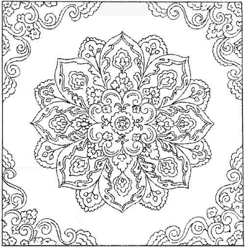 Mandalas - Mandala beau et difficile ...