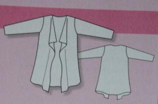 Veste 3/4 femme habillee