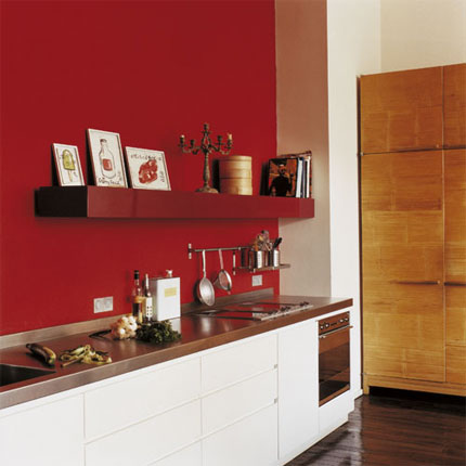 Conseil d co quelle couleur pour ma cuisine help - Cuisine sur un pan de mur ...