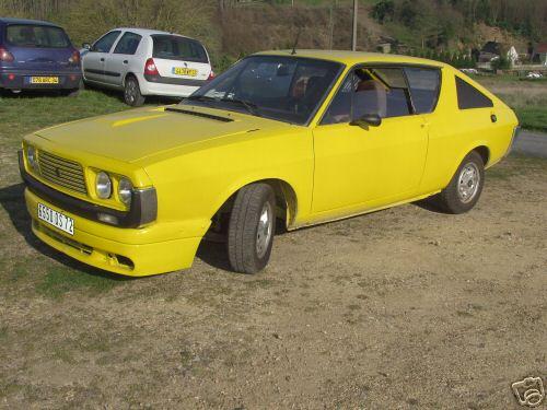1977 Renault 17 Ts. RENAULT 17 TS