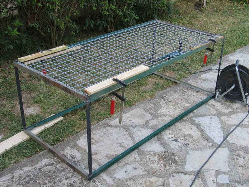 Cage renard fabrication artisanale a vendre 100 - Machine de fabrication de treillis a souder ...