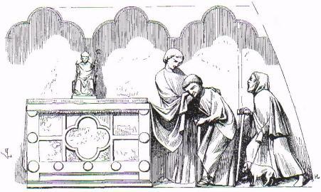 la châsse de saint Honoré