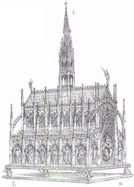 Grande châsse de saint Germain