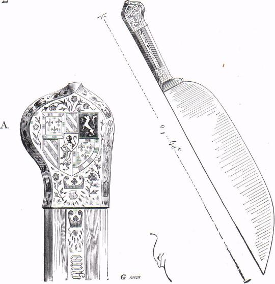 couteaux à trancher (collection du comte de Nieuwerkerke)