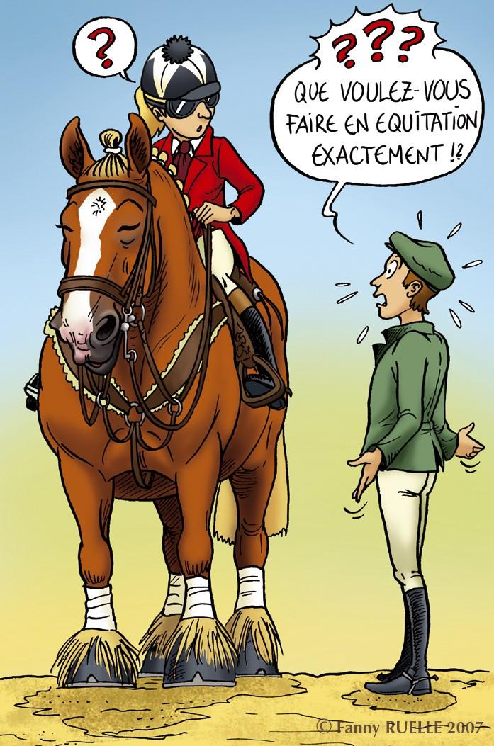 Un jour un cheval mylou d 39 if cheval de trait volant - Dessin cheval de trait ...
