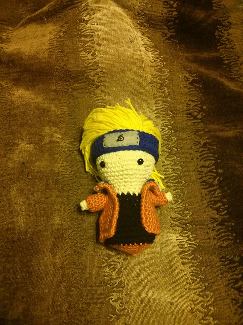 Amigurumi Naruto Pattern : Uzumaki Naruto