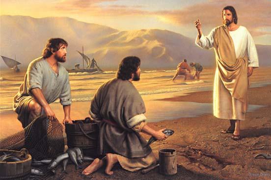 Jésus appelle