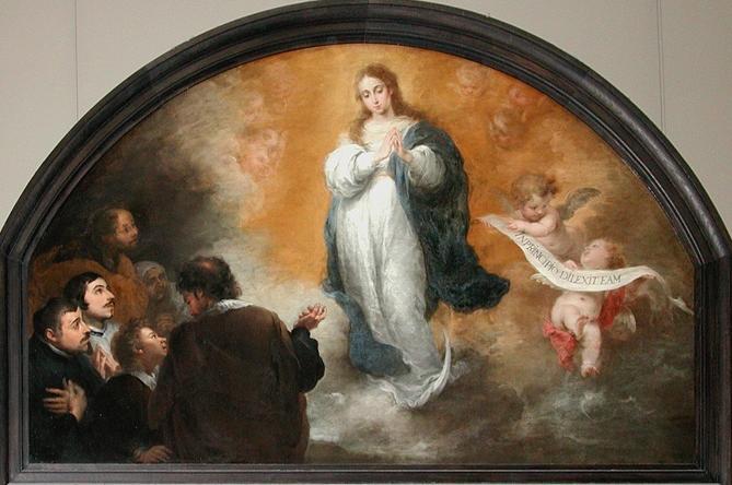 Immaculée Conception de Marie  - B. E. Murillo dans images sacrée l_imma11