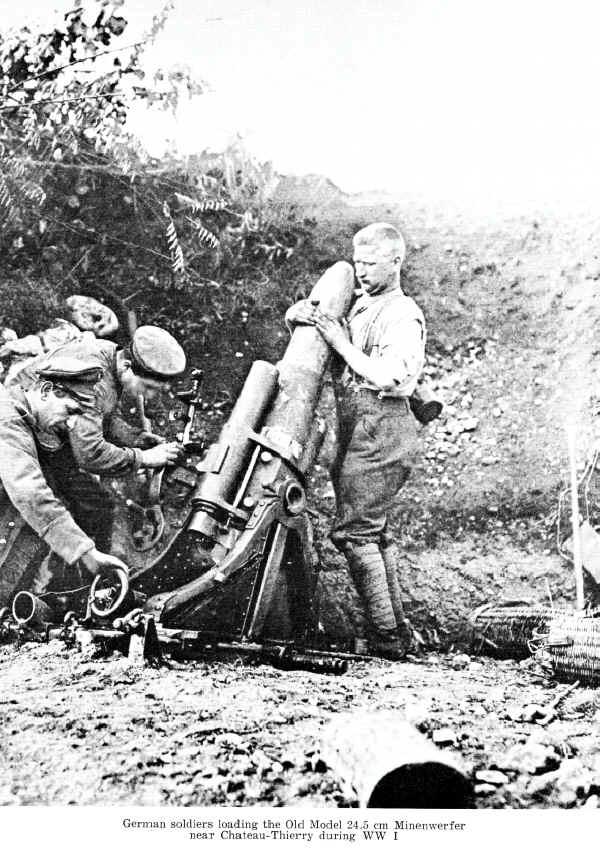 Uniformes Alemanes de la primera guerra mundial