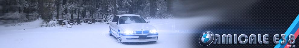 Amicale BMW série 7 E38