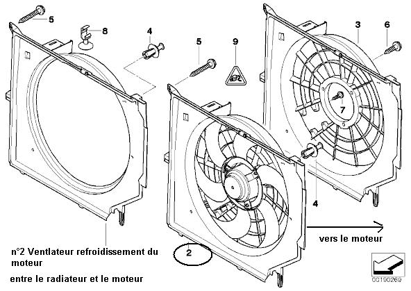 bmw e46 320i an 1999   probleme ventillateur qui ne s u0026 39 arrete plus  r u00e9solu