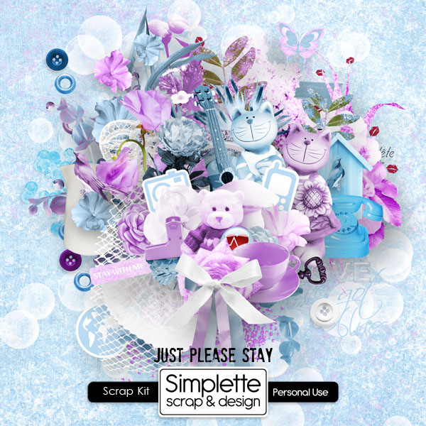 just please stay kit simplette fevrier 2013 bleu violet