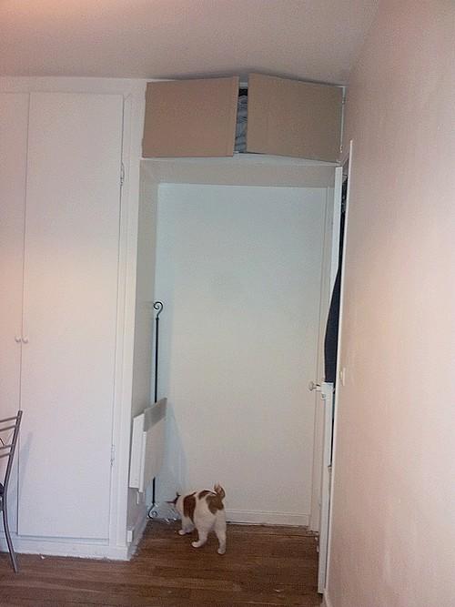Besoin d 39 aide pour d co chambre for Vitre au dessus d une porte