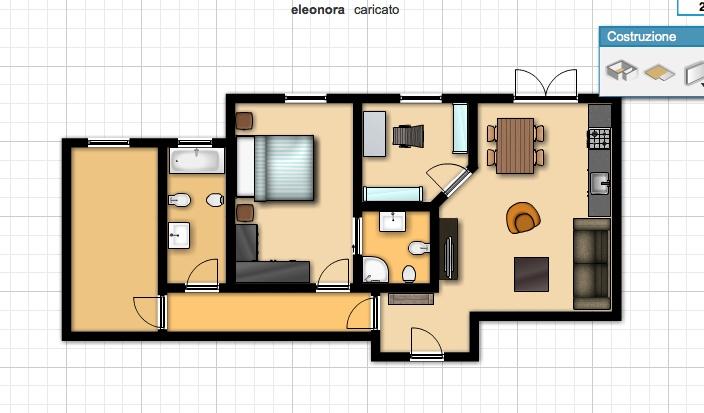 Forum ristrutturazione appartamento 80mq for Planimetrie con stanze segrete