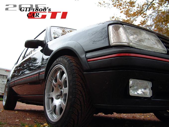 Gti1800 mes 205 gti finition du 205 t16 for Moquette rouge 205 gti neuve
