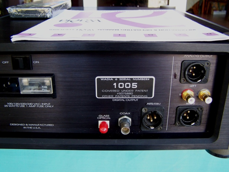 Wadia 6 Cd Player Sold