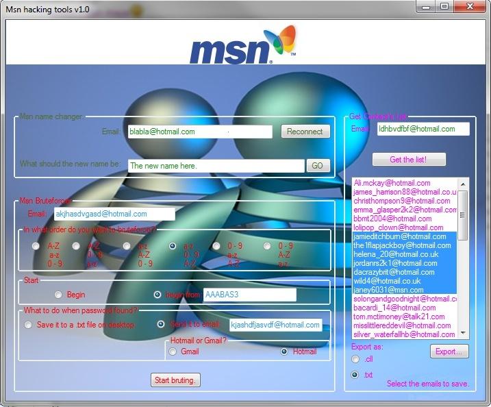 Msn hack tool  stub upadater v1.3