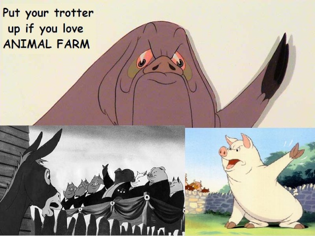 the character of boxer in orwells animal farm Empathy can be defined as 'the power of identifying oneself mentally and emotionally with a person or object' - animal farm - character analysis- boxer the horse.