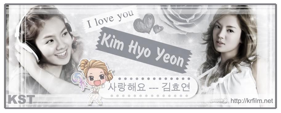Kim Hyo Yeon (김효연)