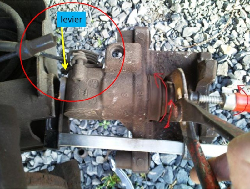 Frein 224 Main Nettoyage M 233 Canisme Commande Sans