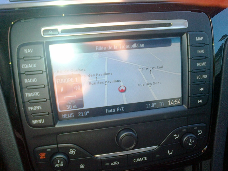 carte gps ford s-max